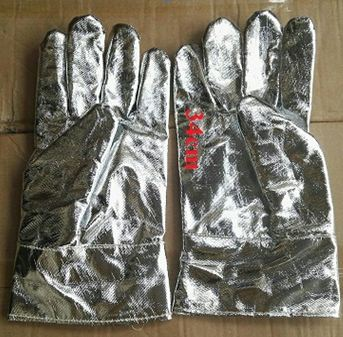 Găng tay chịu nhiệt300 độ C (L=34cm)